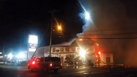 Quinsam Hotel fire