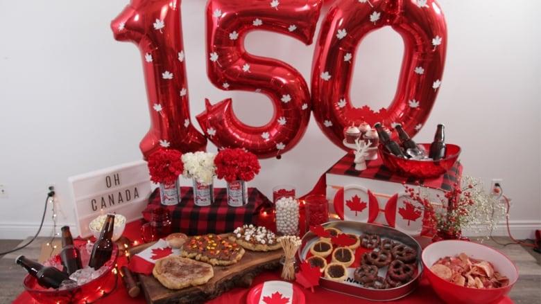 Diy Ultimate Canada Day Tablescape Cbc Life