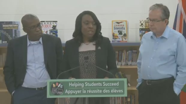 Minister of Education Mitzie Hunter announced the province will put more money into rural and northern schools to enhance programming which includes e-learning, transportation and special needs education.
