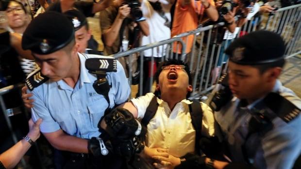 HONGKONG-ANNIVERSARY/PROTEST