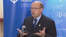 Dr. Owen Heisler, chief medical officer for Covenant Health