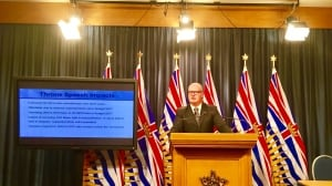 B.C. government says last year's surplus was $1.3 billion more than predicted