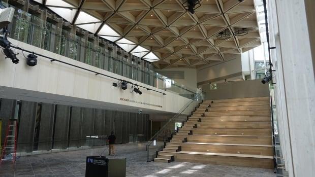 North Atrium, looking west