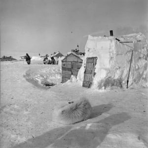 Inuit houses Resolute Bay
