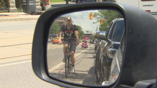 Velo NB says cyclists don't always feel safe cycling on Fredericton roads.