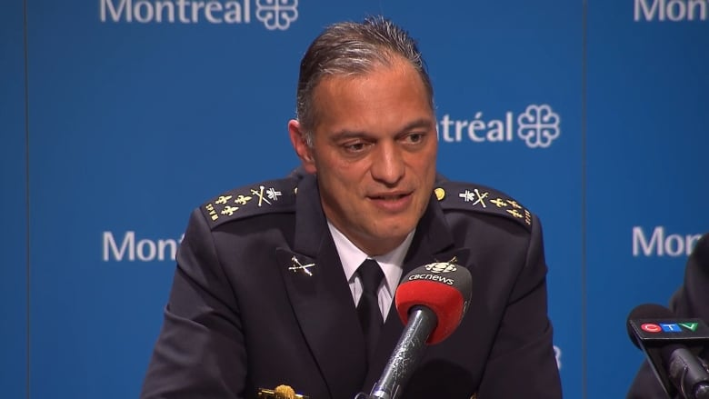 Once in charge of Montreal police, Philippe Pichet demoted