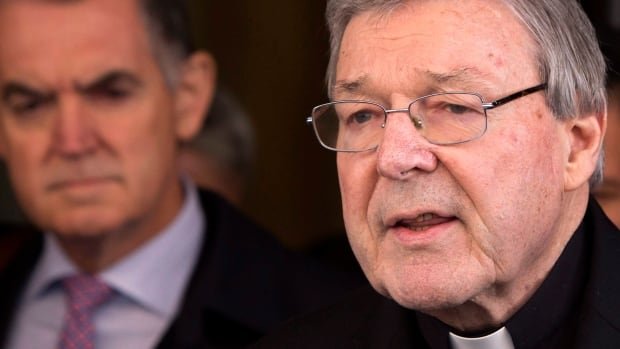 Australian police charged Cardinal George Pell, right, Pope Francis's chief financial adviser and Australia's most senior Catholic, with multiple counts of historical sexual assault offences.