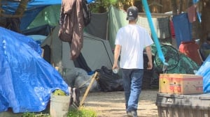 Maple Ridge halts bid to close homeless camp