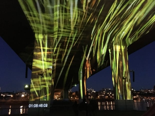 Uninterrupted Art Projection