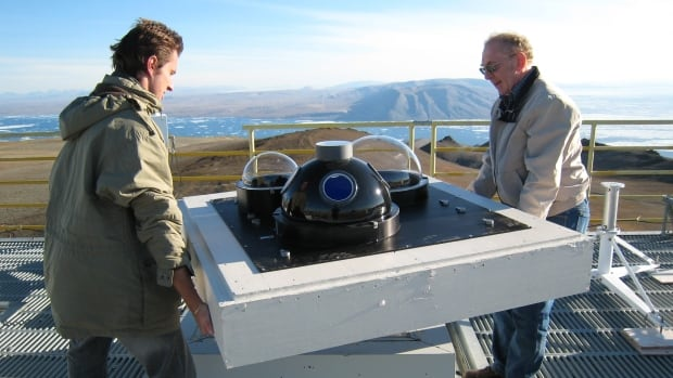 Atmospheric scientists at the PEARL facility study the ozone layer, pollution in the atmosphere, and climate change.