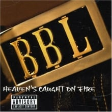 Album cover - Heaven's Caught on Fire by Big Black Lincoln
