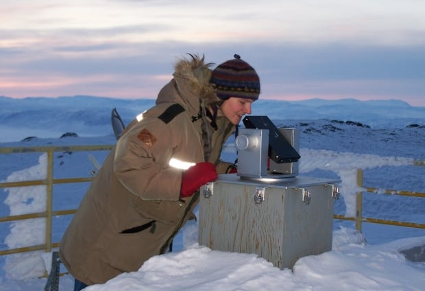Winter researcher at PEARL arctic station