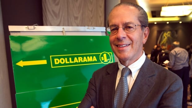 Larry Rossy is pictured at a Dollarama annual meeting in June 2013.