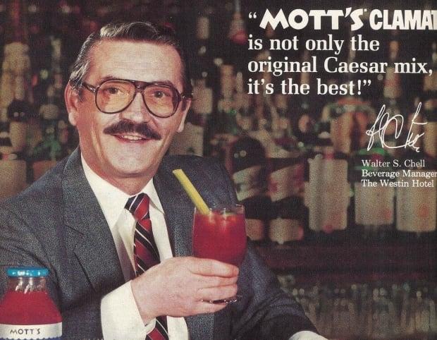 Mott's Clamato ad Walter Chell