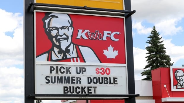 "Kentucky Fried Chicken temporarily rebranded its Canadian operations as ""K'ehFC"" for its Canada 150-themed marketing campaign."