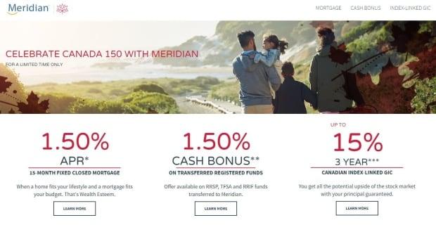 Canada 150 mortgage