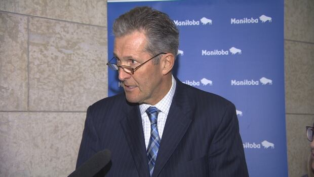 Premier Brian Pallister said Thursday he's willing to wait 'forever' to get a better health-care funding deal from Ottawa.
