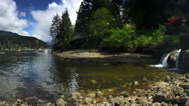 Mountains and water surround Deep Cove in North Vancouver.