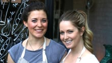 Alison and Meagan of Raw Eatery and Market