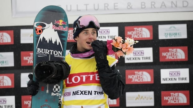 Canadian snowboarder Mark McMorris is back on the slopes after a serious crash this spring.
