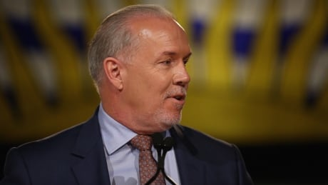 John Horgan delivers mandate duties to new B.C. cabinet ministers