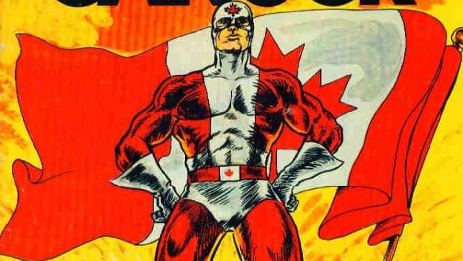 The first issue of Captain Canuck from 1975.