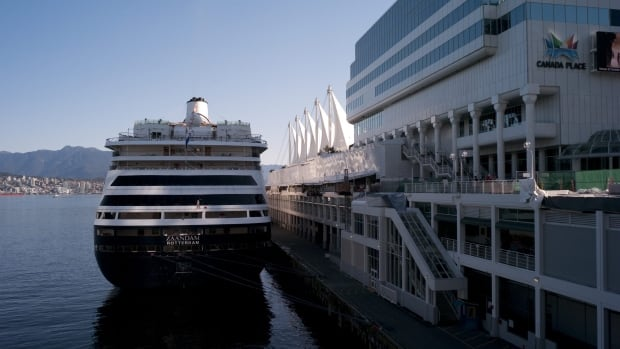 Thousands of passengers are expected at Canada Place over the July long weekend.