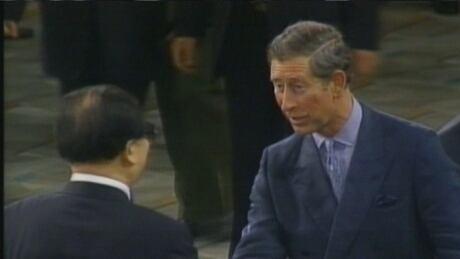 Prince Charles Jiang Zemin Hong Kong Handover 1997