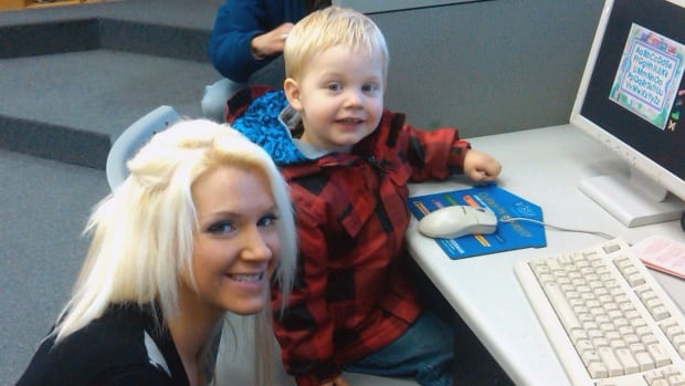 Allisan Tucker and her son, Matthew, are seen in this undated handout photo.