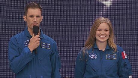 New astronauts