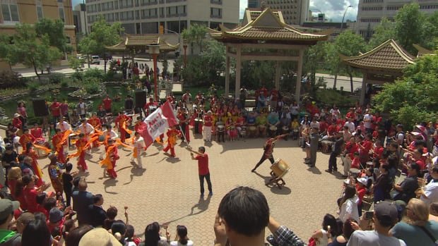 Canada Day drumming Winnipeg