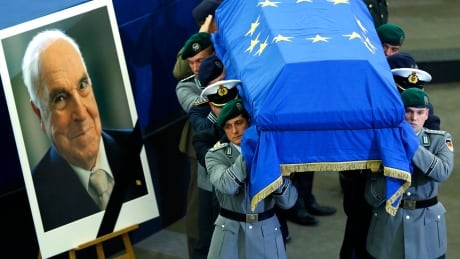 'Thank you for the opportunities': Helmut Kohl funeral draws hundreds