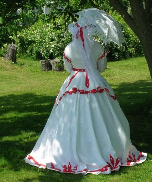 Canada 150 dress