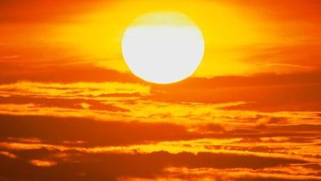 hot burning sun