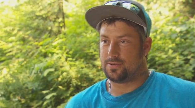 Harrison Lake Camper Jeremy Jossie