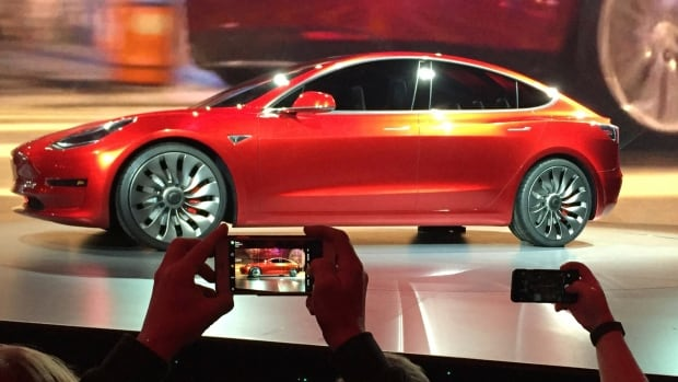 Tesla has come up short of its production goals for its Model 3 vehicle.