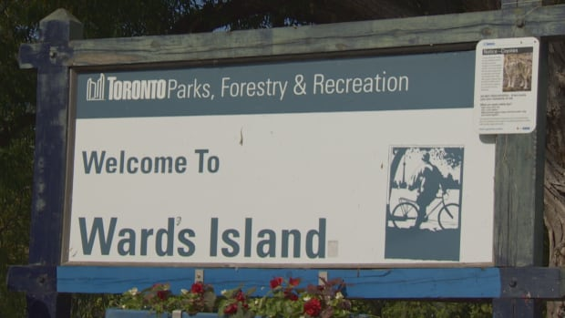 Due to the rain and rising water levels, the city of Toronto closing off access to much of Toronto Island Park, but Ward's Island is still partially open.