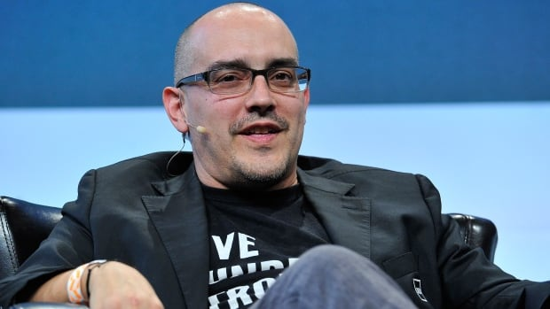 Dave McClure speaks onstage during TechCrunch Disrupt SF 2015 in September 2015. McClure has resigned from 500 Startups amid allegations of misconduct.