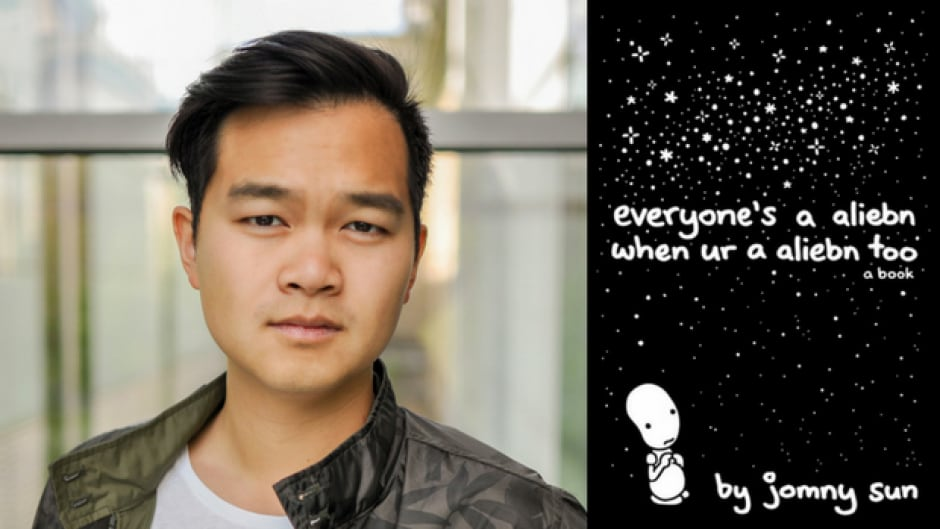 Jonny Sun is the author of Everyone's a Aliebn When Ur a Aliebn Too and is very popular on Twitter.