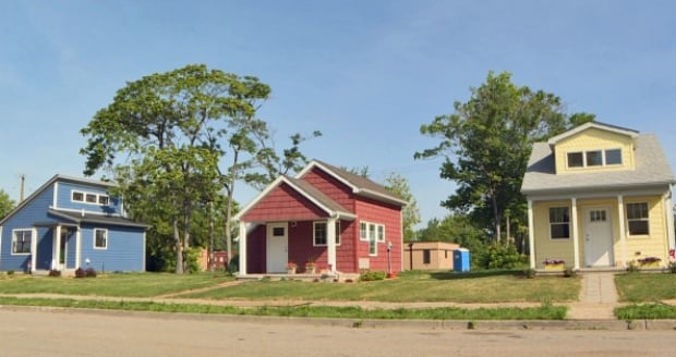 Mini homes put a roof over low income detroiters for 1 for Small house design for elderly