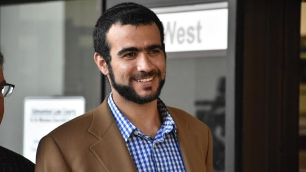 Omar Khadr appears at Edmonton's courthouse on Sept. 11, 2015. Khadr will receive $10.5 million from the federal government to settle a $20-million lawsuit.