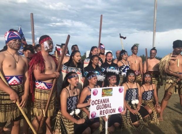Oceania Global Region team at WIN Games