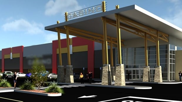 This is a rendering of the Lloydminster casino. Ground was broken last month, but some First Nations say they've been cut out of the profits.