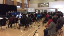 Quebe Cree all-candidates forum