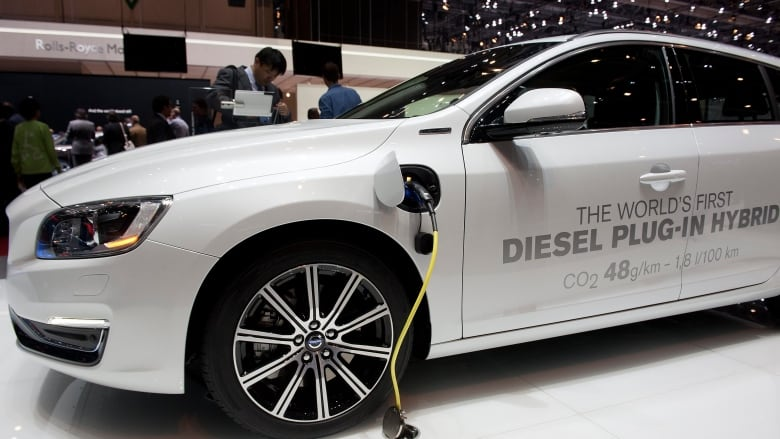 volvo to go electric and hybrid only starting in 2019 | cbc news