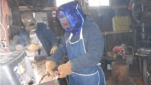 Deskilling; training as welder