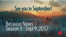 See you in September Because News