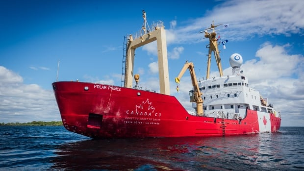 The C3 ship, a former Canadian Coast Guard icebreaker called the Polar Prince, is travelling from Toronto to Victoria B.C., via the Northwest Passage.