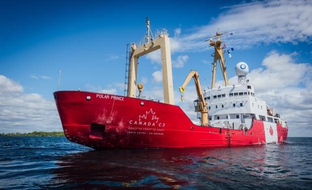 Former Canadian Coastguard icebreaker, the Polar Prince