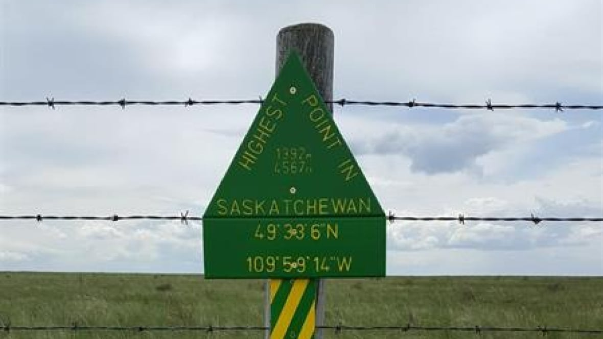 Mystery of sask 39 s nameless highest point solved by for High pointe